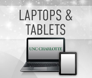 Picture of a laptop and a tablet. Click to shop laptops and tablets.